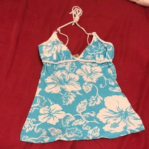 Aloha Hawaiian adjustable strap top